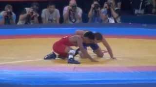 Gomez (PUR) V Kudukhov (RUS); 2012 Olympics 60kg Rd 32