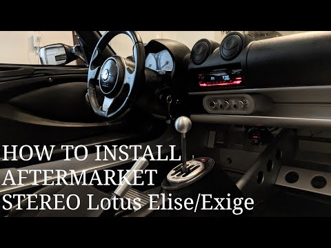 MITCH DORE | How To Install Radio/Stereo Lotus 2005-2011 Elise/Exige
