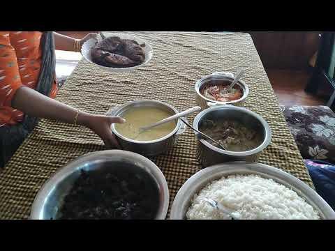 Food vlog in