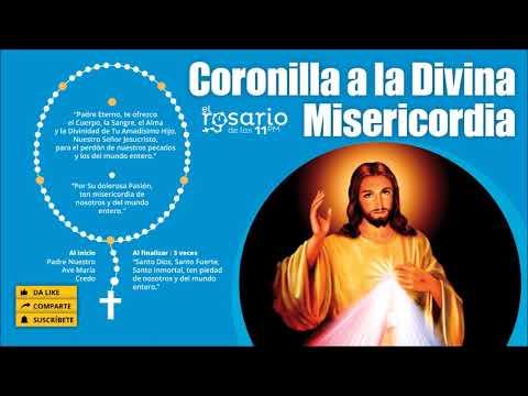 🔴CORONILLA A La DIVINA MISERICORDIA Y EVANGELIO Del Día (3-4-2020)