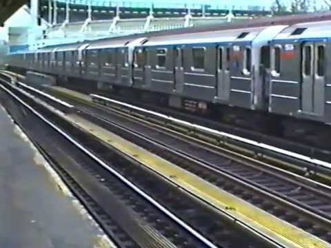 New York subway trips 1991