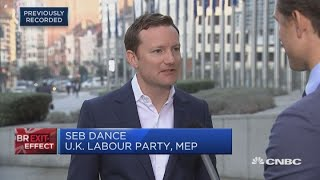 Seb Dance, a member of the European parliament for the U.K.'s Labou...