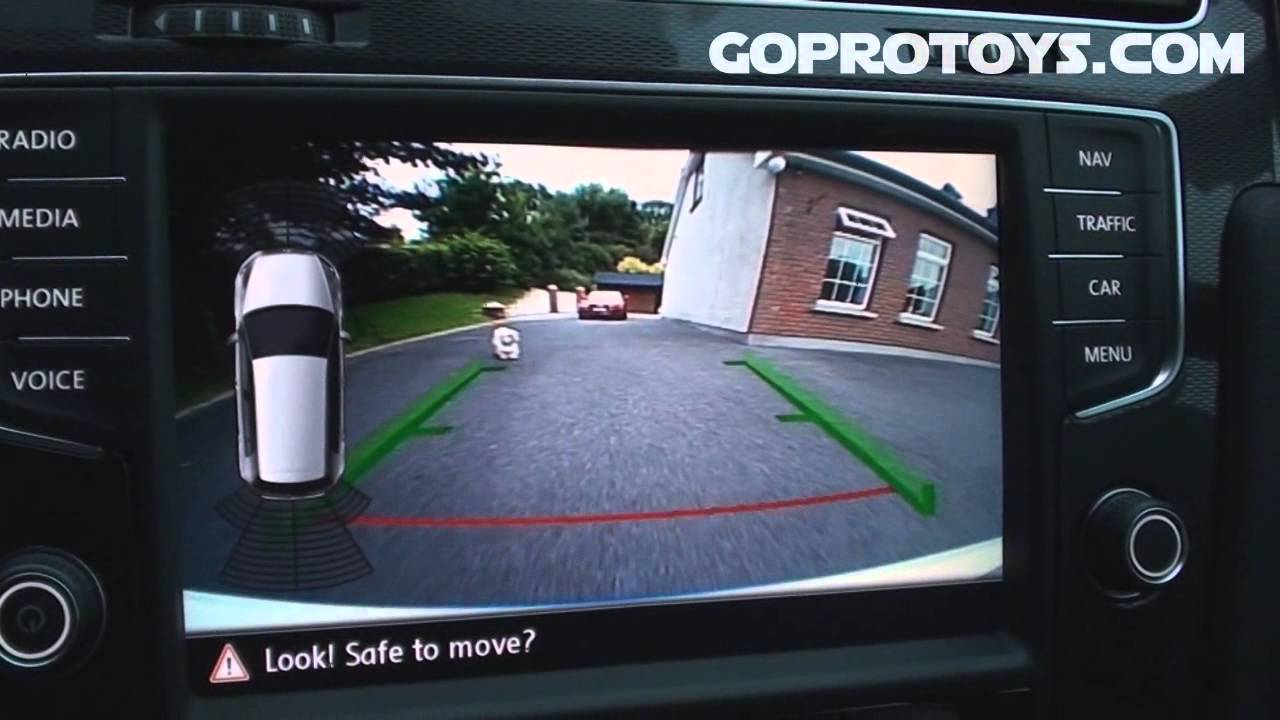 reversing camera for mk7 golf gti youtube. Black Bedroom Furniture Sets. Home Design Ideas