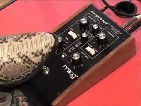 moog moogerfooger analog delay mf 104z guitar effects pedal demo youtube. Black Bedroom Furniture Sets. Home Design Ideas
