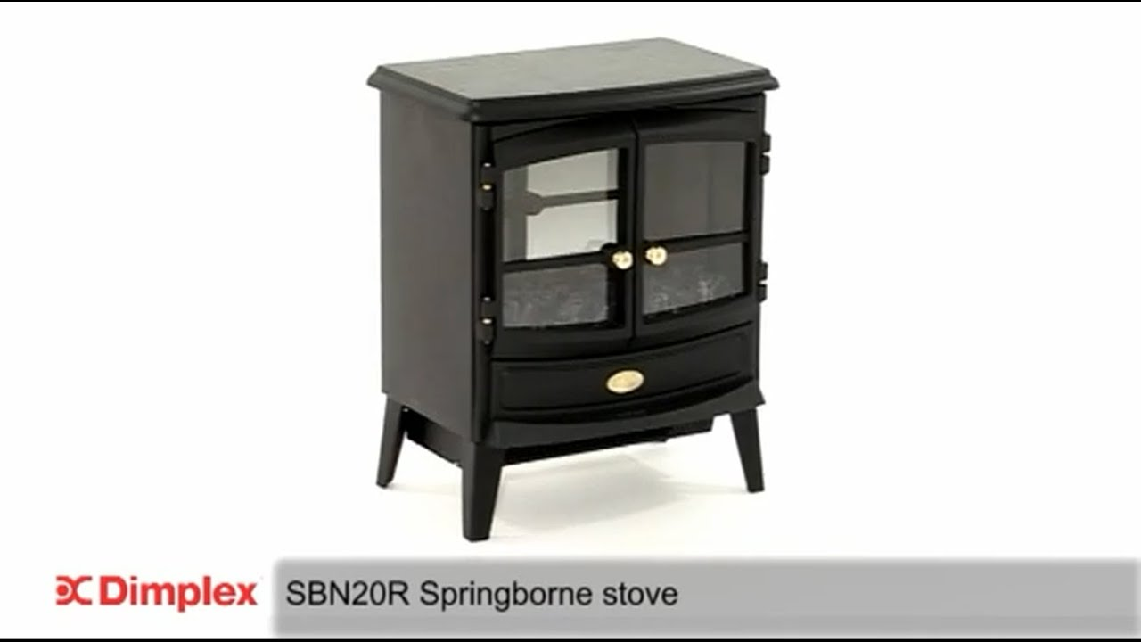 dimplex springborne electric stove with optiflame technology