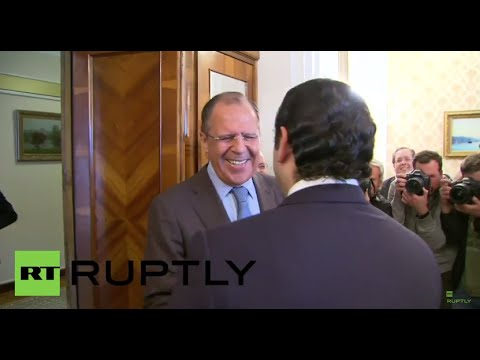 Russia: Lavrov meets former Lebanese PM Hariri to discuss Middle East crises