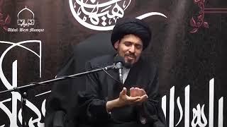 السيد منير الخباز - صراع الهوية السلوكي لدي المسلمين في الغرب مثلا مصافحة الأجنية و الإختلاط