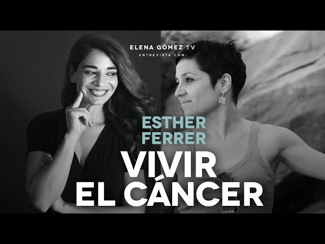 'VIVIR EL CÁNCER'. Entrevista a Esther Ferrer. Instagram LIVE