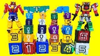 파워레인저 애니멀포스 장난감 미니프라 무장큐브 8종 애니멀킹 와일드킹 장착 Power rangers Doubutsu Sentai Zyuohger Toys