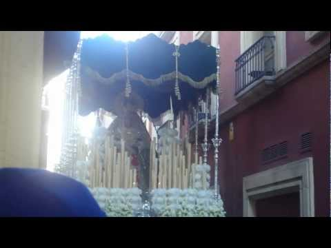 La Esperanza Macarena en calle Las Tiendas ¡Preciosa! ALMERIA 2012.MP4