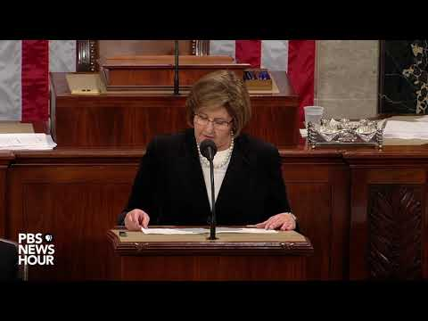 WATCH: Nancy Pelosi declared House speaker after vote count