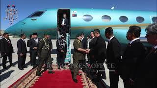 Султан Джохора прибыл в Монголию с государственным визитом