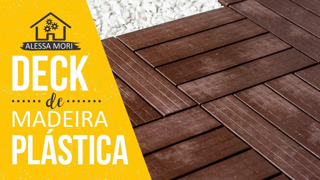 Instalando Decks De Madeira Pl 193 Stica Modulares Massol Na