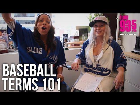 Baseball Terms 101