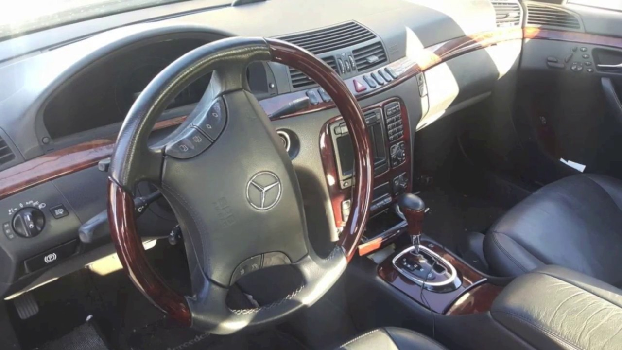 2002 mercedes benz s500 how much is it worth