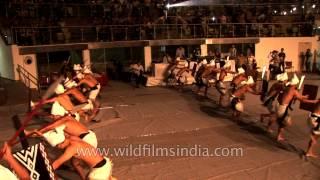 Maring War dance in Ferocious Beauty at NagaFest, Delhi