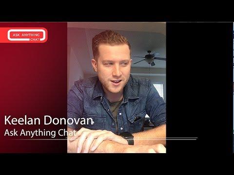 Download Youtube: Keelan Donovan Tells Us About Playing