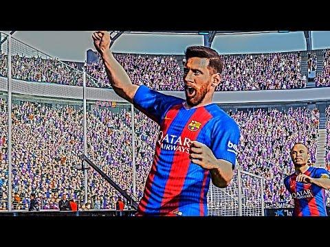 PES 2017 - Messi Goals & Skills HD 60FPS