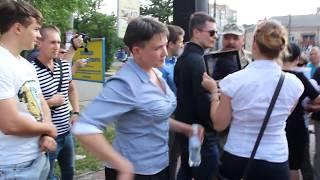 0512: драка Надежды Савченко и 'АТОшников'. Начало