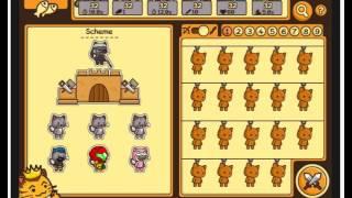 Флеш-игра:Армия кошек Последняя битва #1