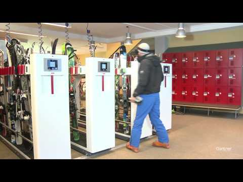 Efficient Electronic Locking For Ski Depots With GANTNER