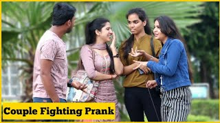 Couple Fighting Prank On Cute Girls Ft_AKY FILMS