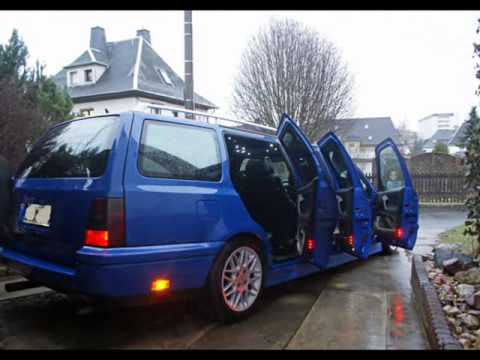 stretchlimo vw golf mk 3 variant youtube. Black Bedroom Furniture Sets. Home Design Ideas