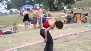 Пьяная гимнастка МЕГА ПРИКОЛ Я РЖАЛ ВЕСЬ ДЕНЬ ЮМОР