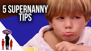 5 Essential Parenting Tips #2 - How To Deal With Tantrums, Dinner Time & More - Supernanny US
