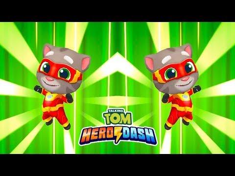 ГОВОРЯЩИЙ ТОМ ПОГОНЯ ГЕРОЕВ  Talking Tom Hero Dash ПОЛНОЕ ПРОХОЖДЕНИЕ часть 3