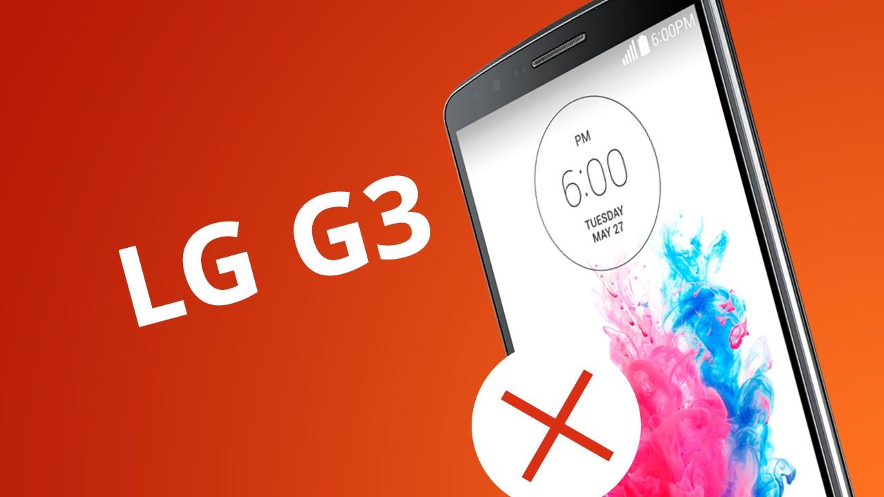2897bf6585d LG G3: 5 motivos para NÃO COMPRAR [5 Motivos] - Vídeos - Canaltech