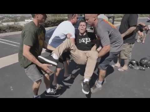 Steve O Breaks His Ankle Doing Stunt!