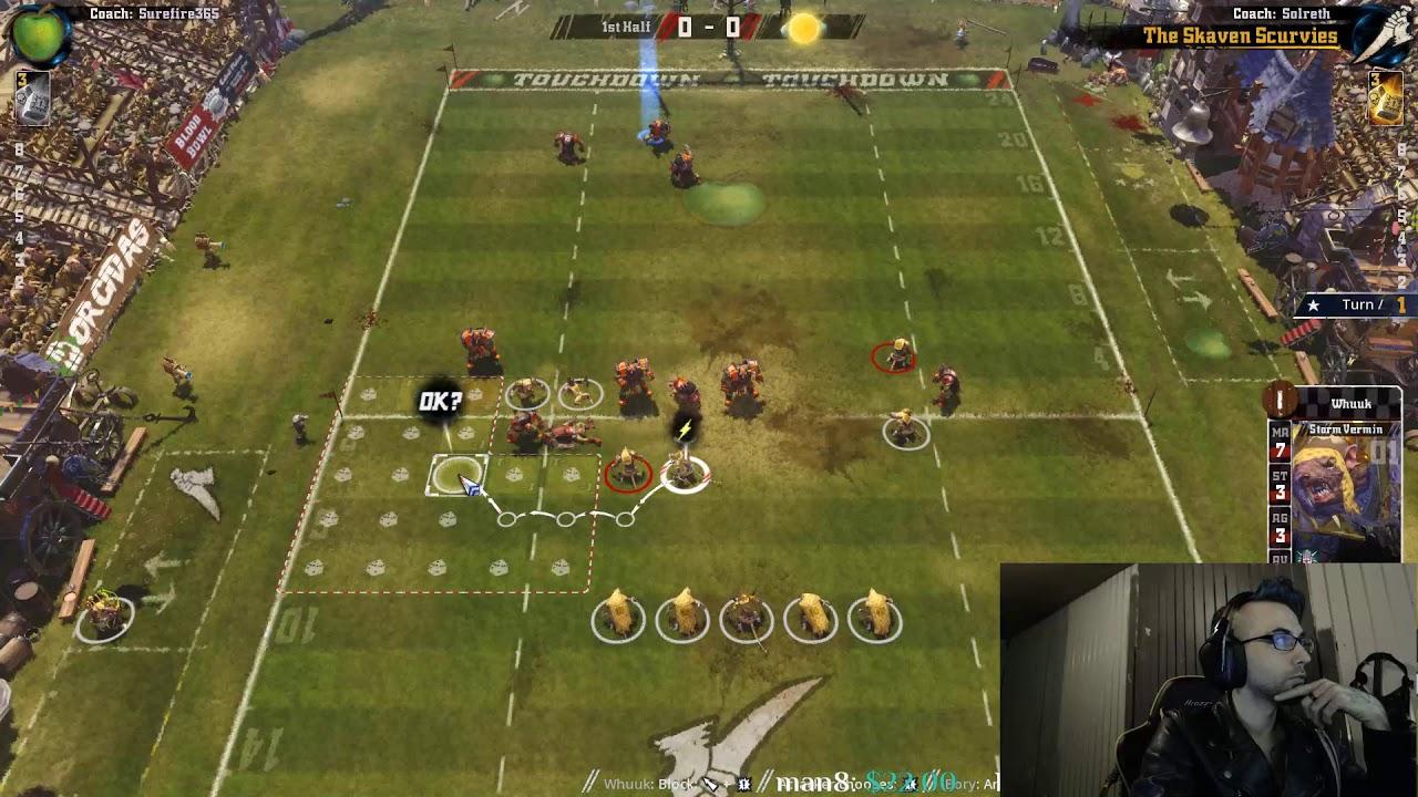Skaven (Sol) vs Orcs (Surefire365): Wacky Dice.