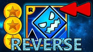 REVERSED Geometry Dash SubZero - All Levels (1-3) 100% Complete [All Coins, Reverse]