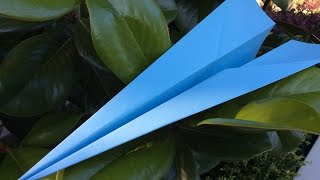 How To Make A Paper Plane | The Jet Plane!!!