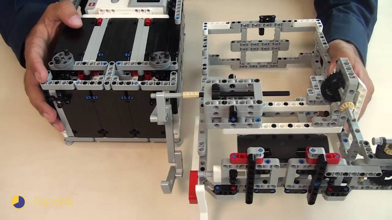 Attachments for Box Robot for Robotics Competitions  Transfer power from  the motors