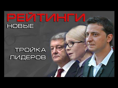 Рейтинги кандидатов в президенты Украины.