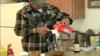 How To Barbeque Beef Ribs : Prepping The Sauce For Bbq Beef Ribs