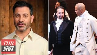 Jimmy Kimmel Apologizes to Mike Pence, Why 'Hamilton' is Coming to Disney+ Early | THR News