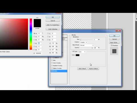 Photoshop: Creating a template for Web Design