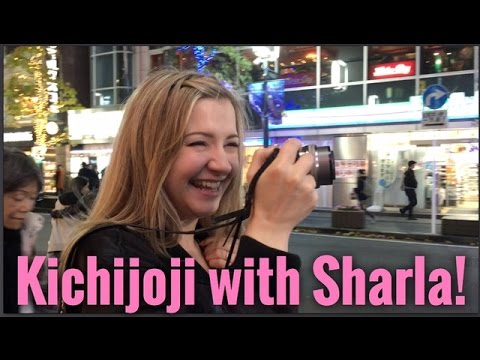 Kichijoji with SHARLA IN JAPAN! ~ Vlogukkah Night #6