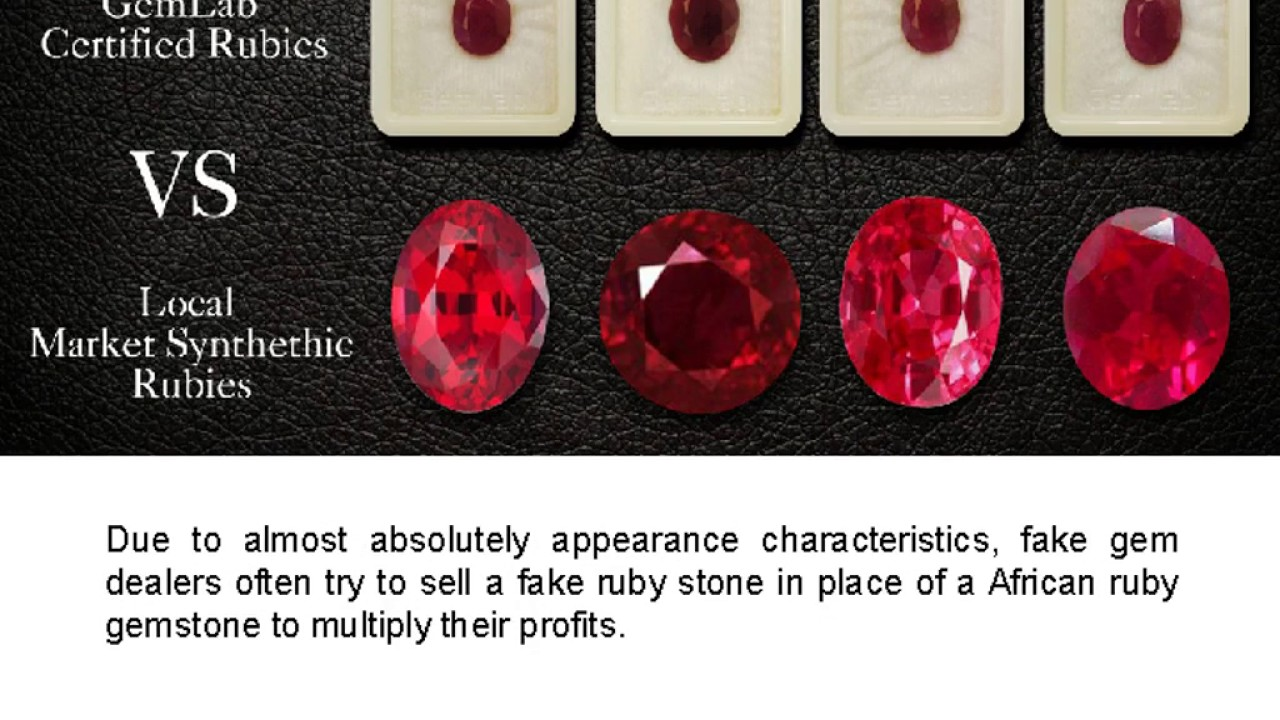 African Ruby Gemstones Vs Local Market Rubies Youtube