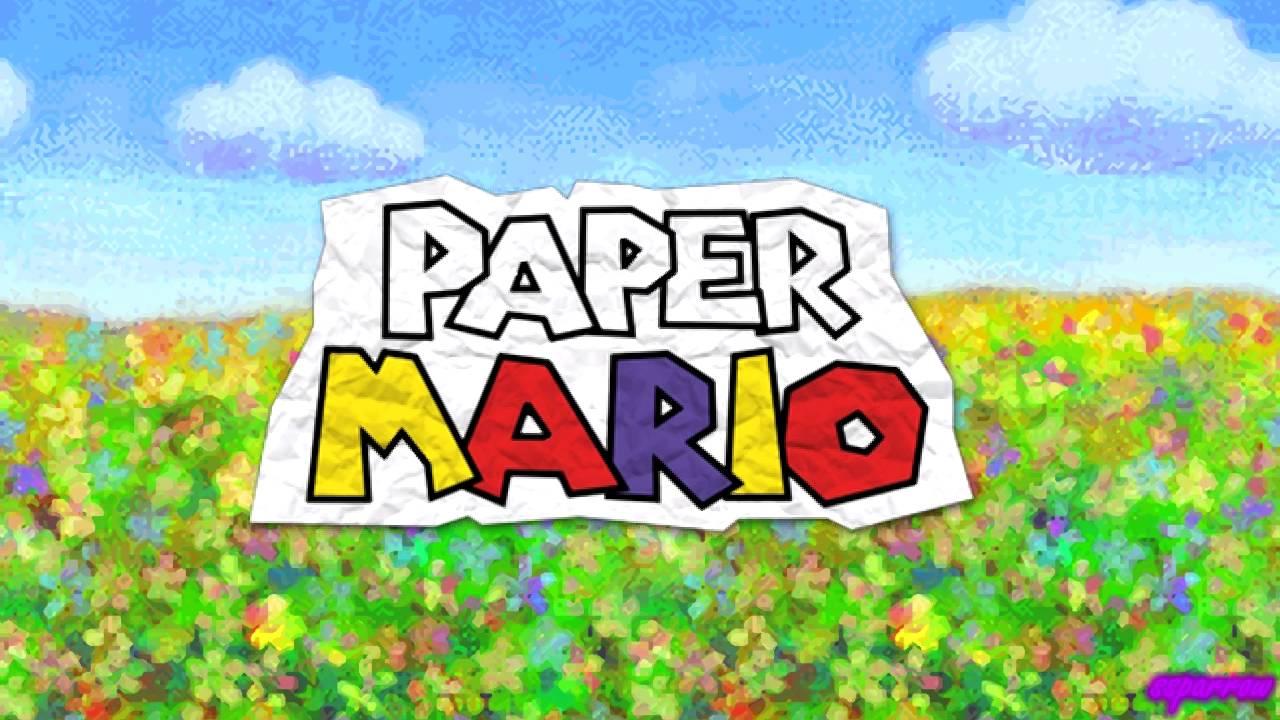 N64 Paper Mario Ost Flower Fields Rondo Youtube
