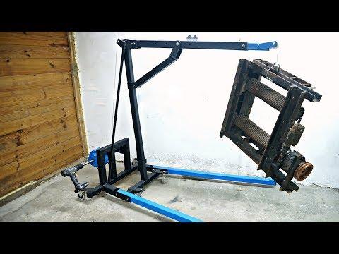 Workshop Crane powered by DRILL
