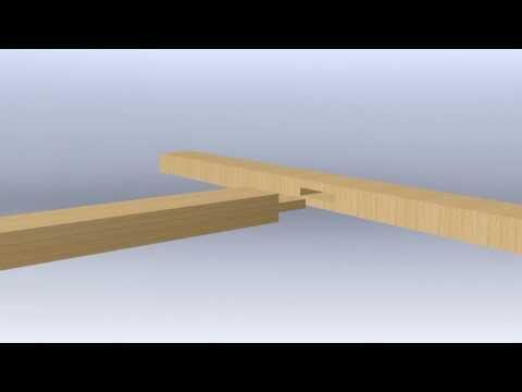 fabriquer un tenon en b nisterie by syst me d. Black Bedroom Furniture Sets. Home Design Ideas