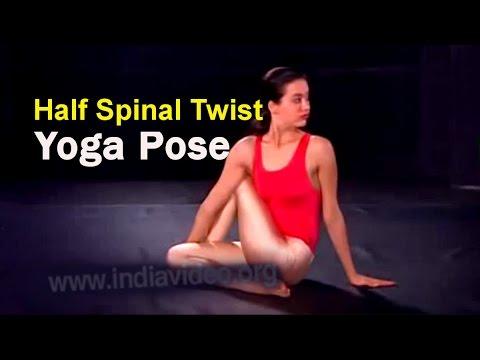 Half Spinal Twist - Ardha Matsyendrasana Yoga Pose