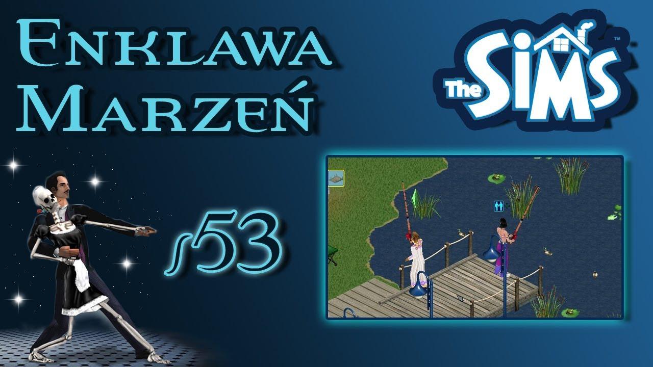 """Enklawa Marzeń odc. 53 – The Sims 1 – """"Ryby i fail z nagrodą"""""""