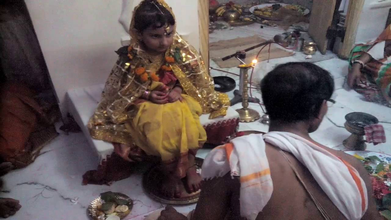 Kumari Puja At Ma Kamakhya Temple ,Begunbari,Murshidabad,West Bengal