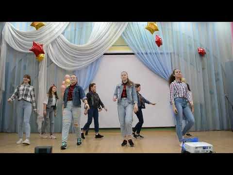 Танец на Новый год в стиле 90х