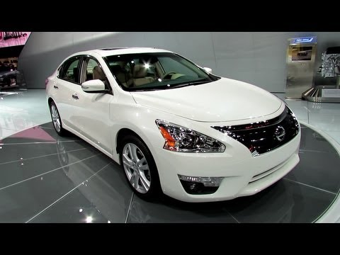 2013 Nissan Altima Exterior And Interior   Debut At 2012 New York  International Auto Show